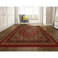 *BN* Ottomanson Homeline Collection Traditional Red Persian Oriental Floral 536 km