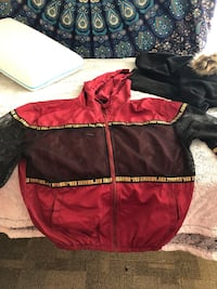 women's red and black zip-up jacket Grand Junction, 81501
