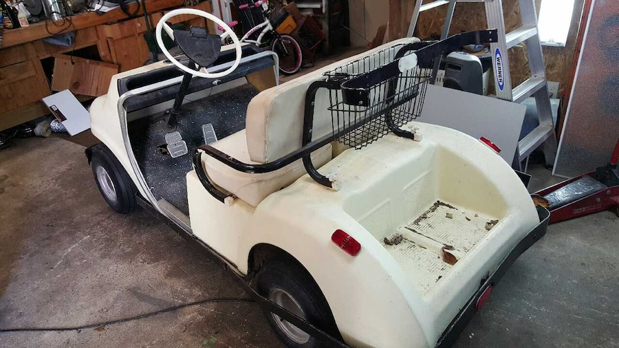 Used Vintage 1968 Pargo Golf Cart In Huntington