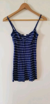 Brand new Aritzia Wilfred bustier stripe navy blue camisole xs Vancouver, V6B