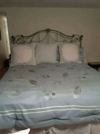 King pillow top down bed Keyport, 07735