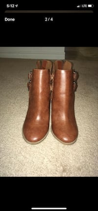 New brown boots size 9 London, N6H 4T6