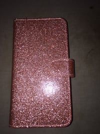Rose Gold I-Phone 6 Plus Wallet with Credit Cards Holder -Brand New (Never Used Packed) 546 km
