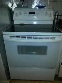 white and black induction range oven Gatineau, J8Z 1R6