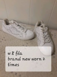 pair of white Converse All Star low-top sneakers 60 km