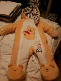 Snow suit size 3 mos.