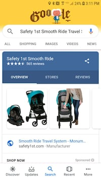 black and blue stroller screenshot Silver Spring, 20904