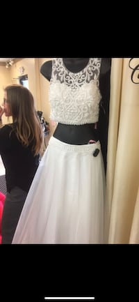 Blush Prom Dress A-Line Two Piece  Snellville, 30047