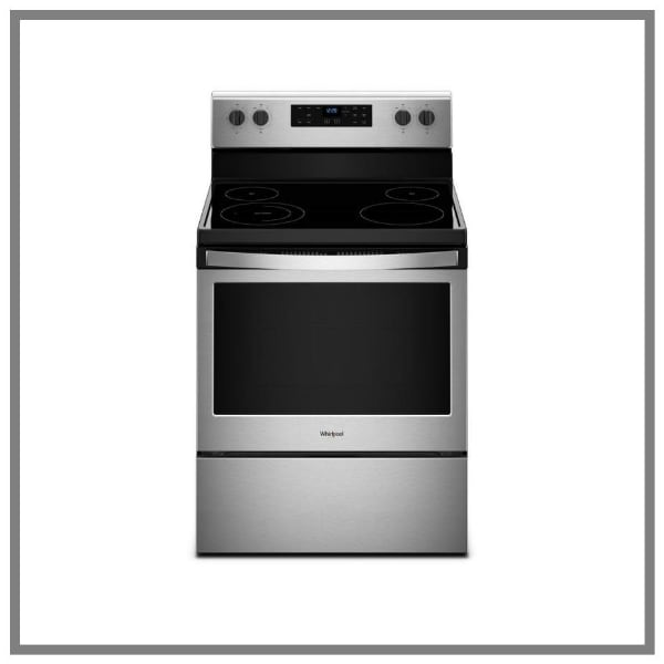 Closeout Whirlpool Electric Range WFE510S0HS