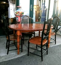6 Chair Dining Set Solid Wood Table and Chairs Escondido, 92025