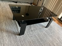 Black Glass Coffee Table Arlington, 22201