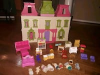 Fisher price doll house with furniture  Parkville, 21234