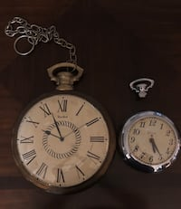 Vintage Large Pocket Watch Clocks