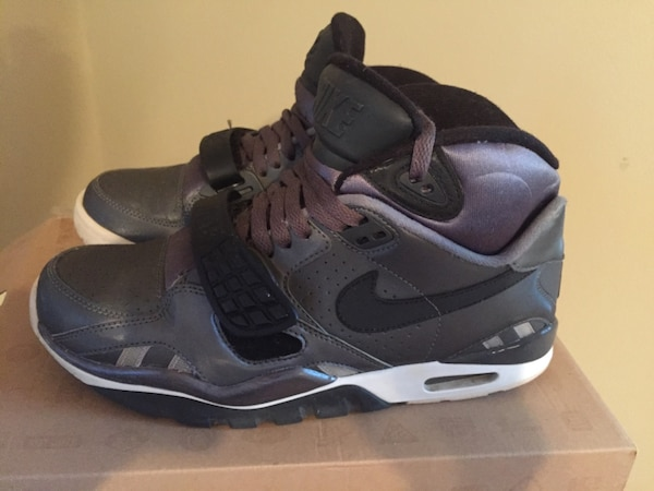 hot sales b9d34 8e9cb Used Nike Air Trainer SC II Metallic Dark Grey   Black - Anthracite size 9  for sale in Springfield