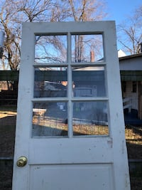 Great offer 32x80 solid wood with glass door! .