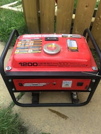 red and black portable generator Calgary, T2M 2L9