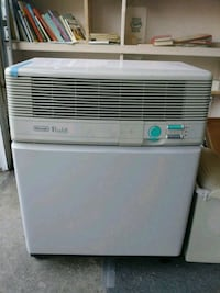white and black Frigidaire portable air cooler Redwood City