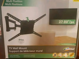 TV WALL MOUNT ORBITAL 37-80 """"