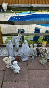 Garden statuary $10 to $12 each Ijamsville, 21754