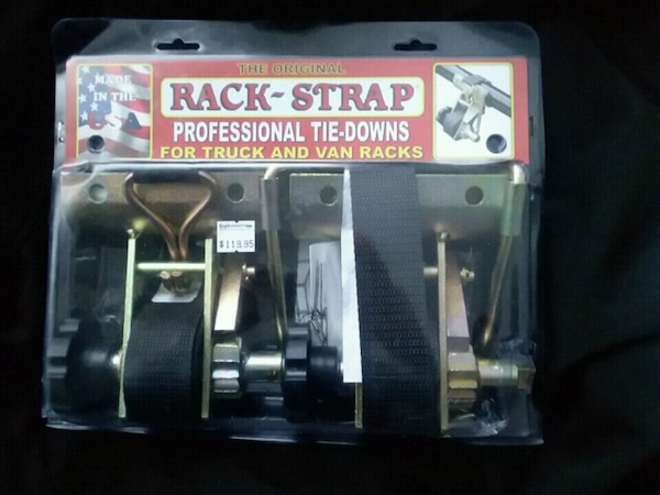 Rack straps professional tie downs