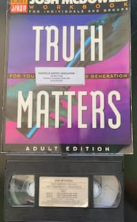 TRUTH Matters - Book & Video  $10           Nashville