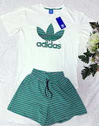 Brand new set of short and shirt for summer