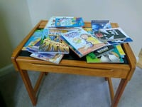 child activity table with all books on top Clarksville, 21029
