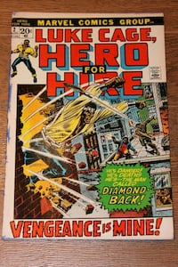 Luke Cage Hero for Hire #2 2nd Luke Cage App Mississauga, L5N 7V4