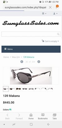 black framed sunglasses with black lens screenshot Bakersfield, 93308