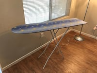 Blue and white ironing board—adjustable height Las Vegas, 89123