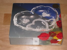 NEW Heart Plate - Original Walther-Glas - Made in