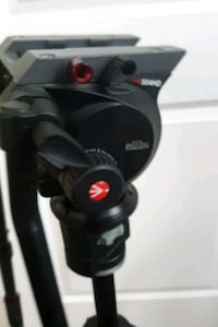 MANFROTTO TRIPOD WITH 504 HD LIQUID HEAD  Stockton