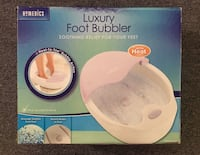 Never used - Homedics Luxury Foot Bubbler with Heat Richfield, 55423