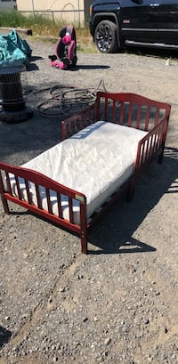child bed with mattress
