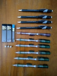 10 Papermate barely&never used mechanical pencils Pearland