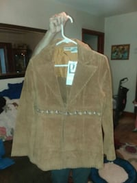 Newport News leather coat Craigsville, 24430