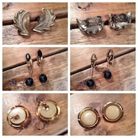 Vintage and Modern Earrings 138 mi