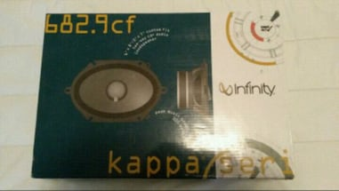 INFINITY KAPPA,,, 6x8 Speakers