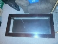 Glass solid wood coffee table  Quinte West, K8V 4K9