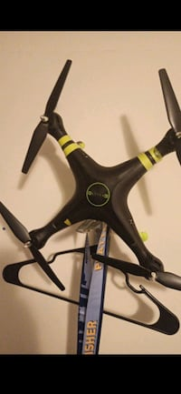 Galileo drone with camera charger and battery ready to fly