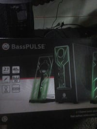 GE Bass-Pulse 2.1-channel stereo box