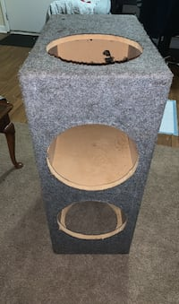 Custom built Subwoofer box holds  #4, 12inch subs.