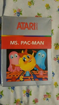 Ms PAC man boxed Atari 2600