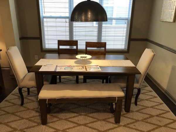 Basque Honey Collection Dining Table Buffet By Crate And Barrel
