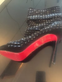 Louboutin ankle boots style studded heels very beautiful  Brampton, L6V 3P6