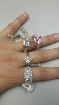 Rings size 8  New Iberia, 70560