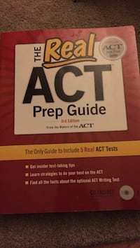 The real Act prep guide book Silver Spring, 20904