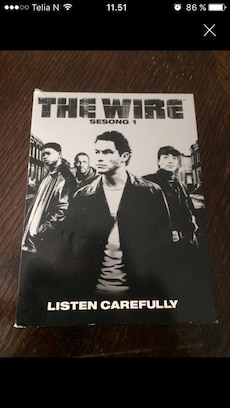 Sesong 1 av the wire på dvd