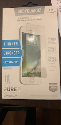 iPhone 7 / 6s screen protector  Jacksonville, 32277