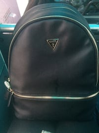 Black leather guess backpack  Cambridge, N1R 0B5
